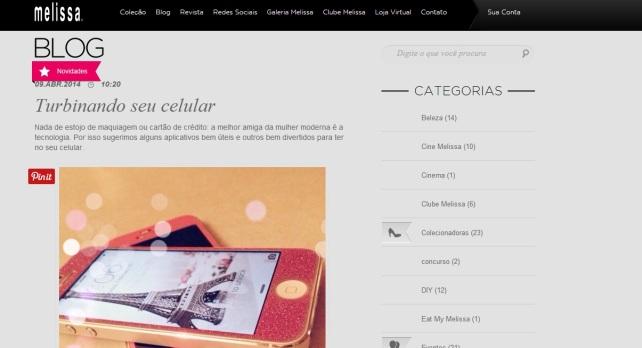 Blog Melissa